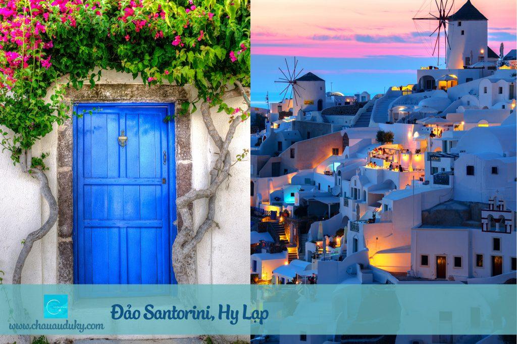 Santorini, Hy Lap