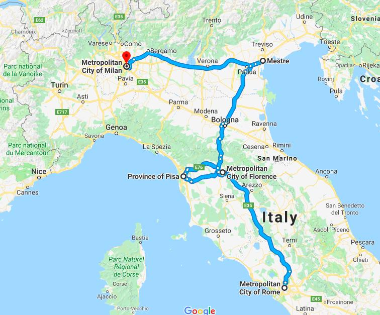 landtour mono Italy